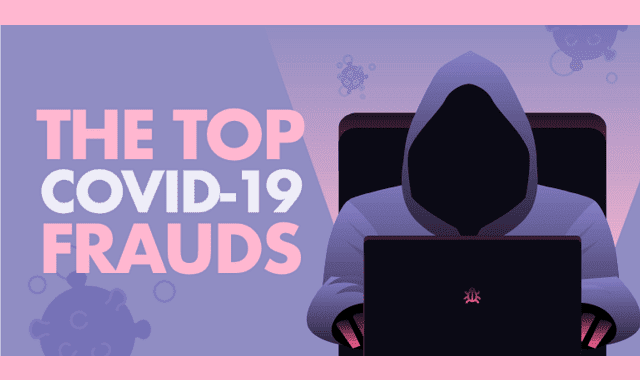 The Top Covid-19 Frauds #infographic