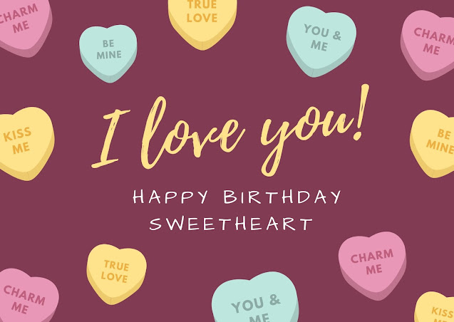 Happy Birthday Images for boyfriend with card