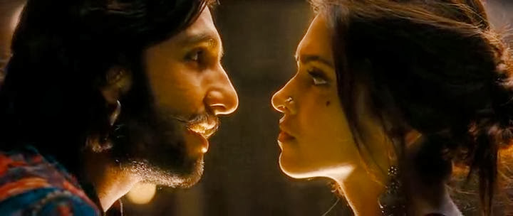 Screen Shot Of Hindi Movie RamLeela 2013 300MB Short Size Download And Watch Online Free at worldfree4u.com