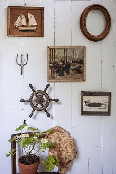 Ship Wheel Wall Decor