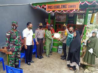 Kapolres Enrekang Resmikan Pos Kamling Di Kecamatan Alla
