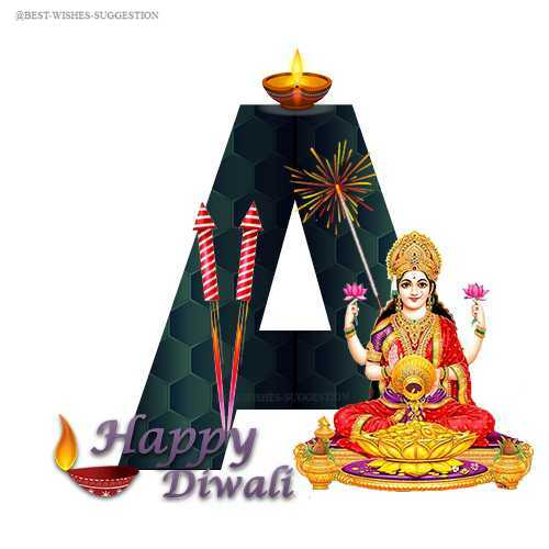 Download Diwali ABCD Images, Diwali Alphabet Images For Whatsapp Picture.