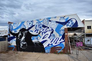 Street Art in Wagga Wagga by Keo Match