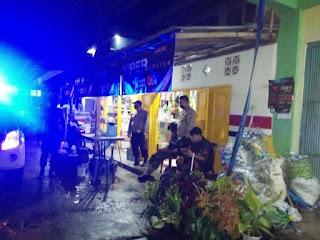 Polsek Maiwa Polres Enrekang Laksanakan Patroli Blue Light Di Malam Hari
