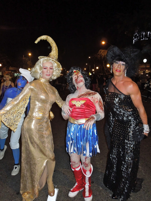 West Hollywood Halloween Carnaval witches