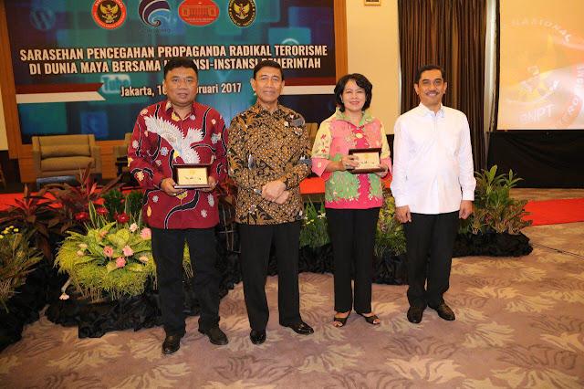 BNPT Kumpulkan Humas Kementerian, TNI/Polri Untuk Cegah Radikalisme Terorisme di Dunia Maya
