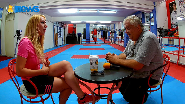 Η Κατερινιώτισα παγκόσμια πρωταθλήτρια Έλενα Χατζηλιάδου τα λέει «έξω απ' τα δόντια»