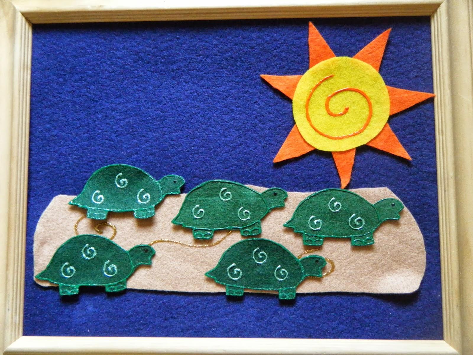 Felt Board Ideas All About Turtles Turtle Felt Board