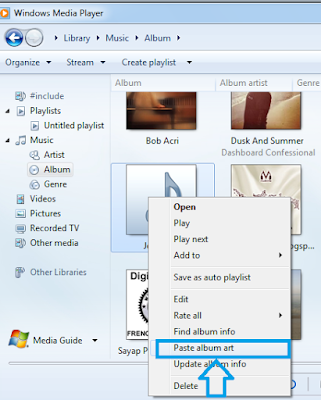 Cara Menambah Album Art pada mp3 di Windows 7