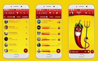 Chili Theme For YOWhatsApp & Fouad WhatsApp By Leidiane