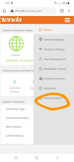 click Administration