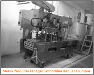 Mesin Produksi sebagai Komoditas Kebijakan Impor dalam perdagangan internasional