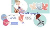 Logo Le Bebé Progetto Cicogna : Fiocco Nascita in regalo e vinci gioielli e passeggino