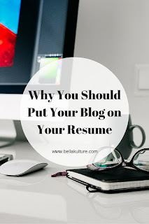 Why You Should Put Your Blog on Your Resume