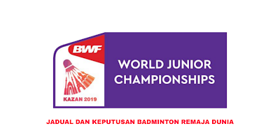 Jadual Badminton Remaja Dunia 2020 (Keputusan)