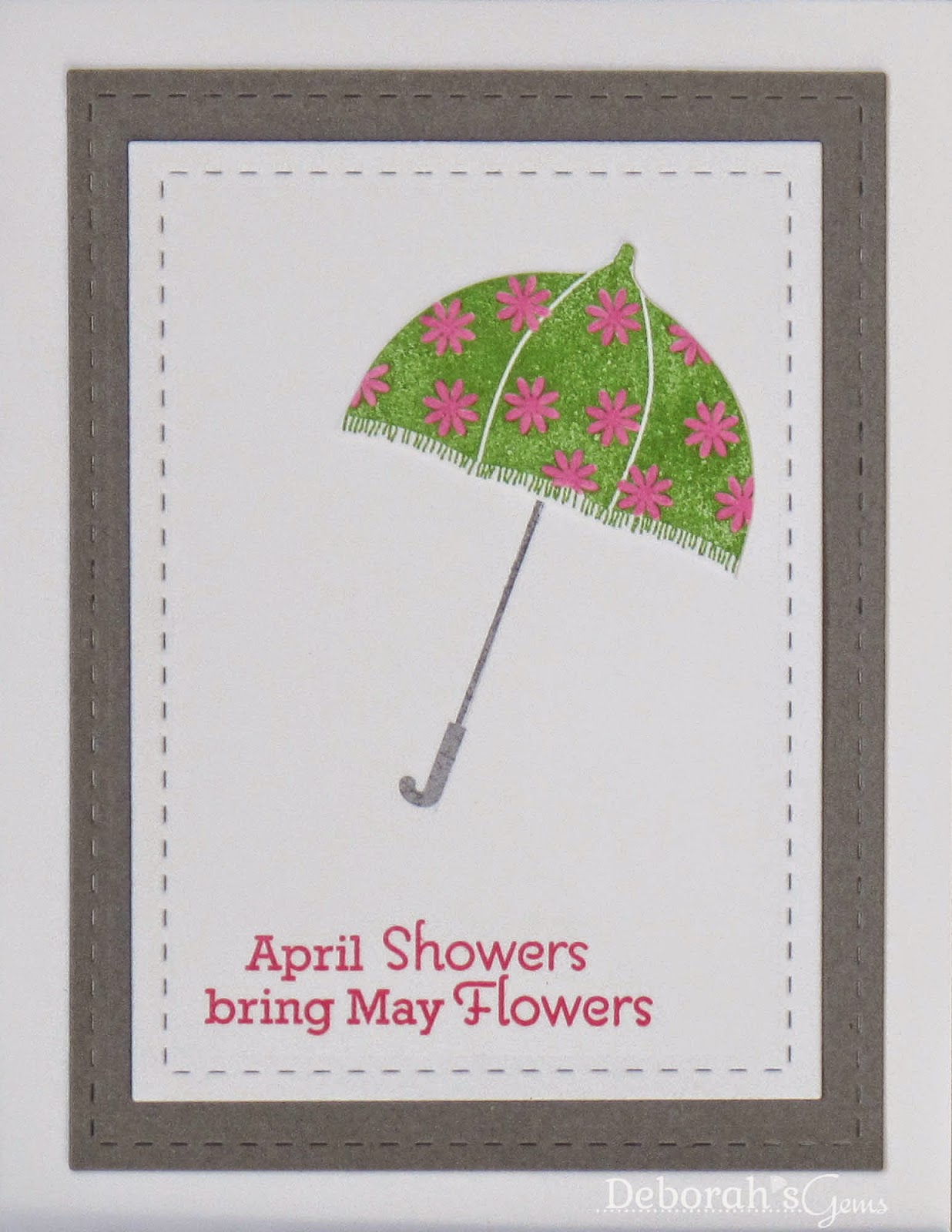 April Showers - photo by Deborah Frings - Deborah's Gems