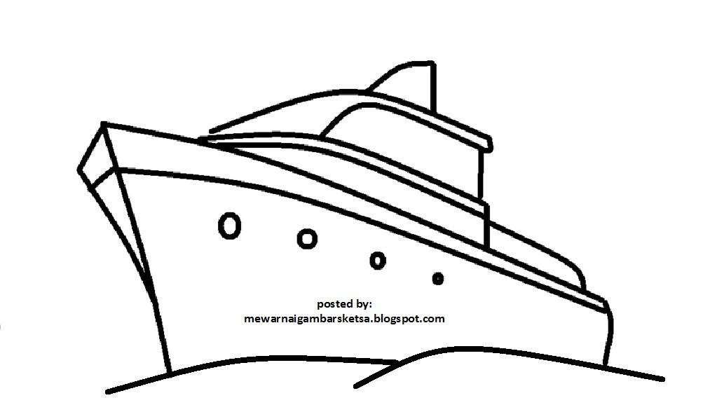Sketsa Kapal Related Keywords Suggestions Sketsa Kapal Long Tail