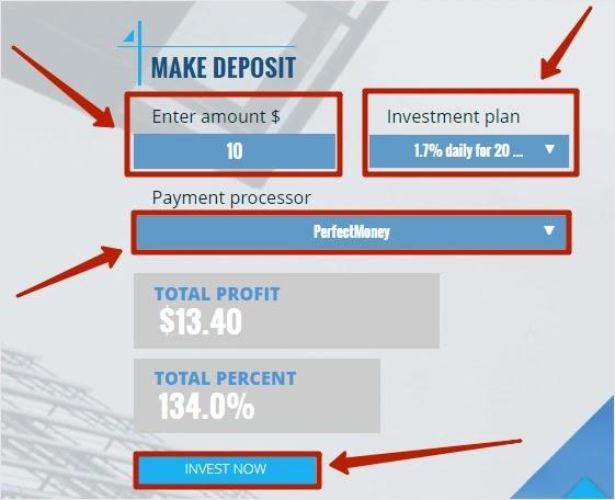 Пополнение баланса в BinaryFinance 2