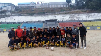 Mungpoo Football Academy in NP ground Darjeeling