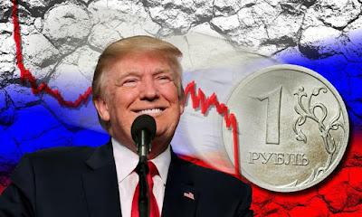 Трамп очередным дебильным заявлением обрушил российский рубль