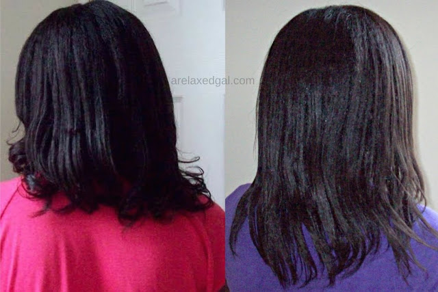 See how what I've been doing to try and keep my relaxed hair moisturized. | A Relaxed Gal