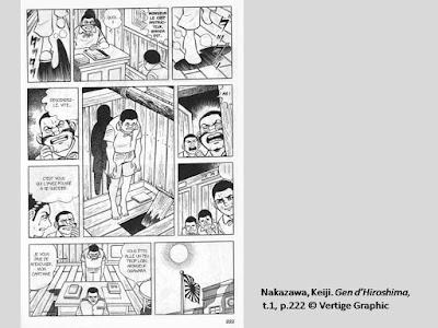 Nakazawa, Keiji. Gen d'Hiroshima, t.1, p.222  © Vertige Graphic.