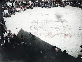 prosesi upacara adat batak dan gambar desa naualu
