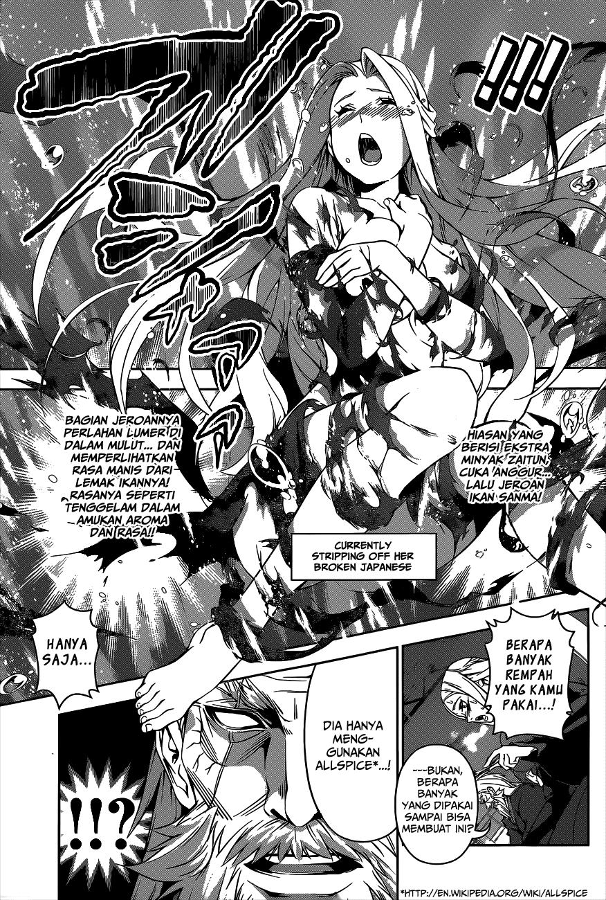 Dilarang COPAS - situs resmi www.mangaku.in - Komik shokugeki no soma 100 - pedang tajam 101 Indonesia shokugeki no soma 100 - pedang tajam Terbaru 9|Baca Manga Komik Indonesia|mangaku.web.id