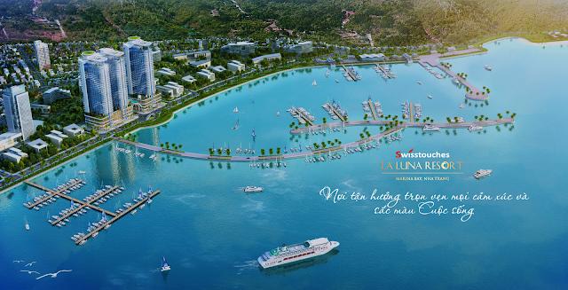 phối cảnh dự án Laluna Resort Nha Trang