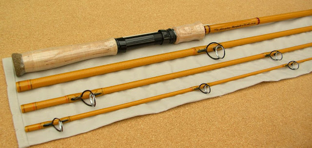 GRAYWOLF RODS - McFarland Rods Yellow Glass 7 6  Spinning Rod