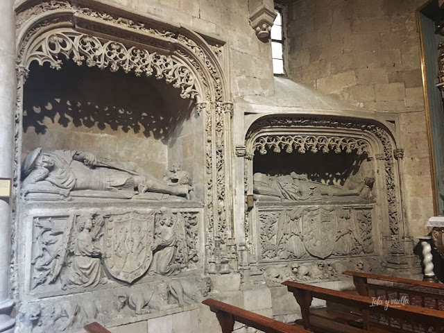 Sepulcros góticos San Martín