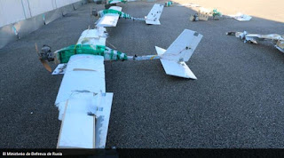 Drones used to attack Hmeimim Airbase only available to states