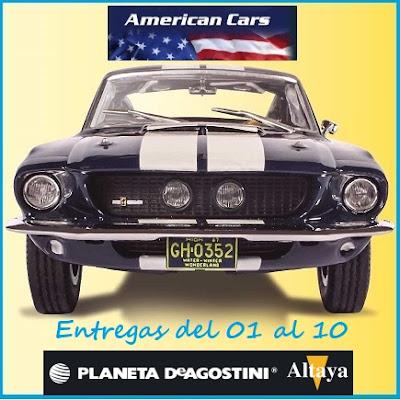 <h4>American Cars, Altaya</h4>
