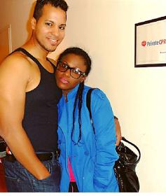 Uche jumbo and husband
