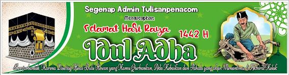 Template Spanduk Idul Adha 2021 Format CDR Gratis