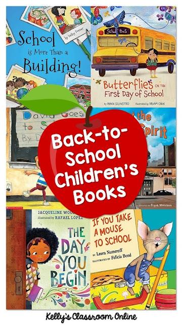 15 children's books to read at the beginning of the school year. Back-to-school. Preschool, preK, kindergarten, first grade, second grade, third grade