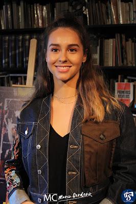 Paula Usero (Luisita) en la presentación de 'Luimelia'