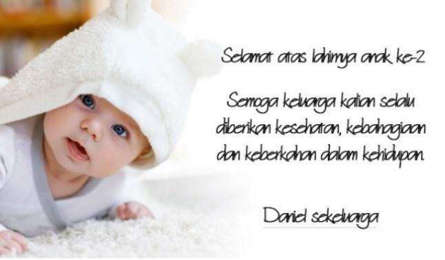 Kumpulan Kata Ucapan Untuk Bayi Baru Lahir Lengkap Eja Kata