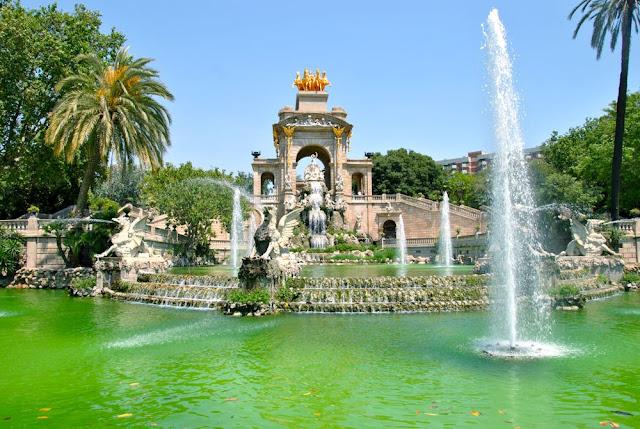 Parc Ciutadella em Barcelona