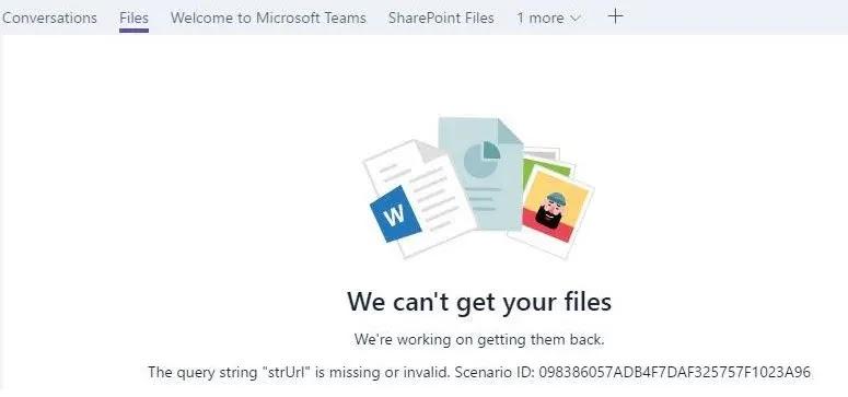 إصلاح عدم ظهور ملفات Microsoft Teams في مجلد الملفات لأعضاء الفريق