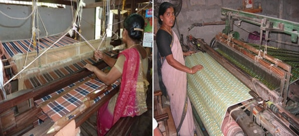 Hand loom and power loom