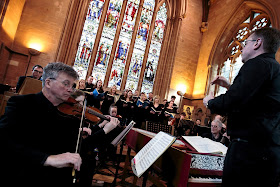 Christopher Monks and Armonico Consort (Photo Simon Jay Price)