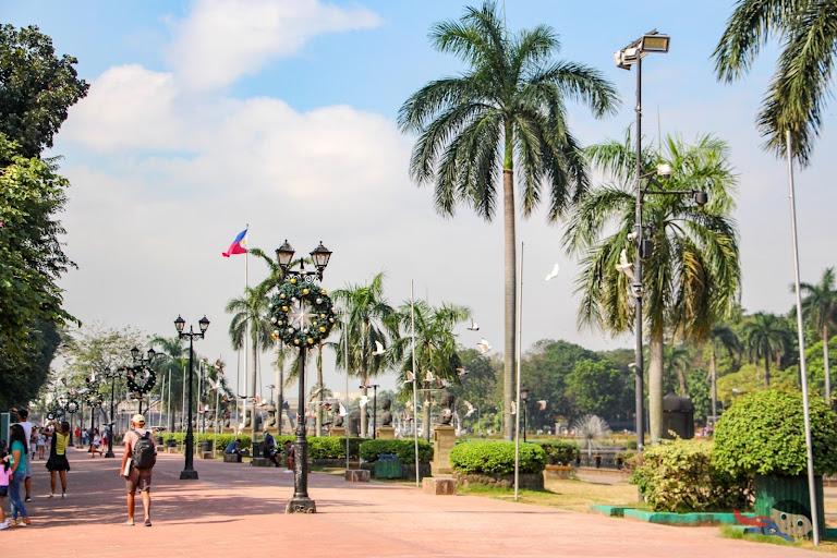 Rizal Park photography - Manila, Philippines