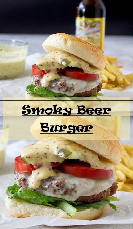 Smoky Beer Burger