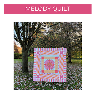 Melody quilt pattern