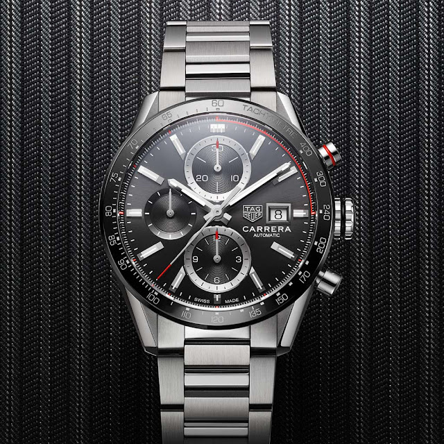 New TAG Heuer Carrera Calibre 16 Chronograph CBM2110.BA0651