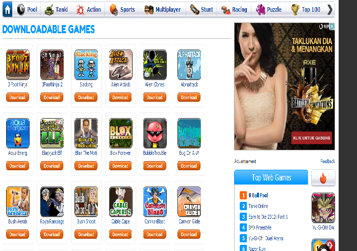 Cara Download Game Miniclip