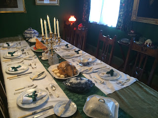 Dining table, life on pig row