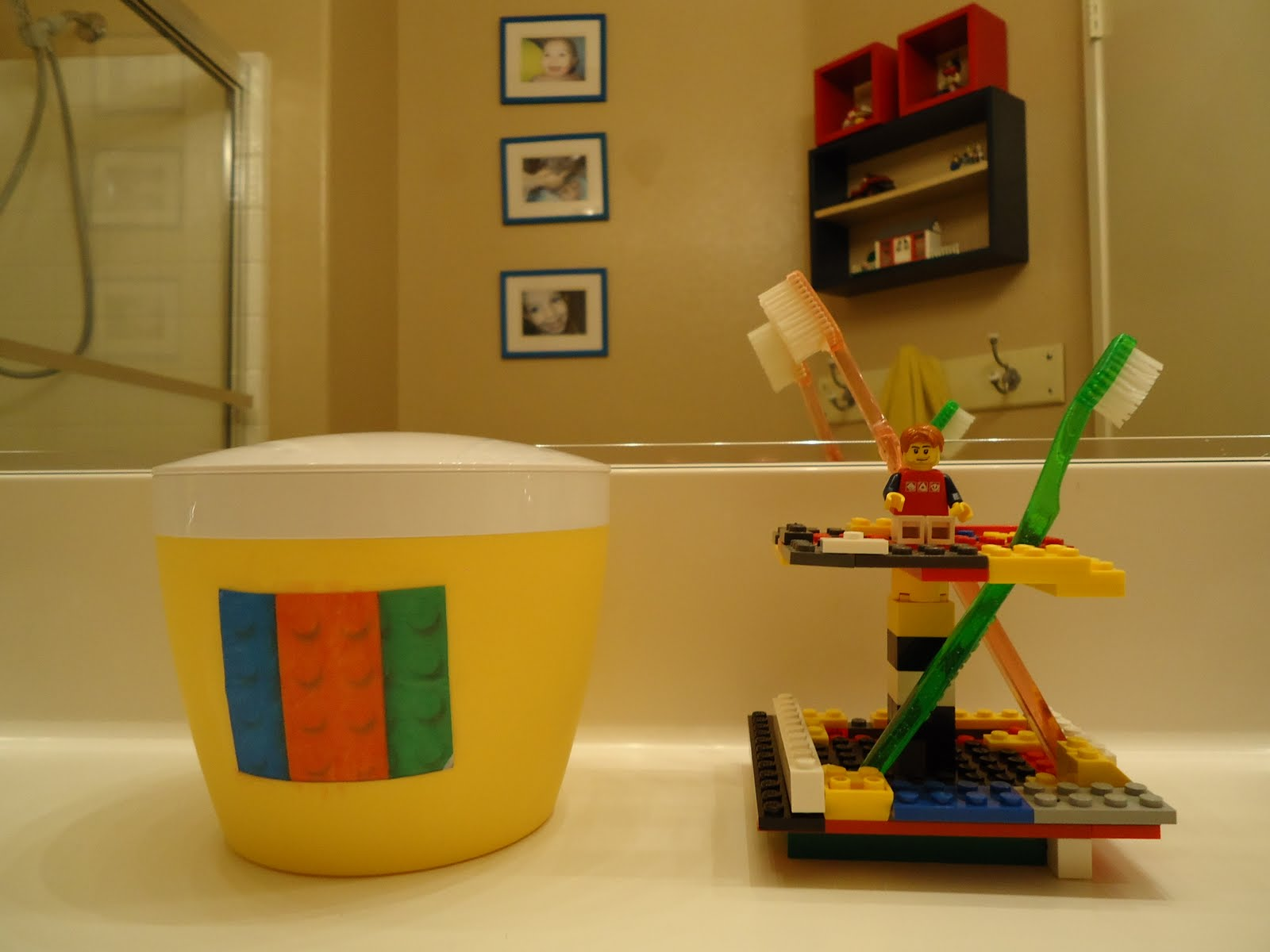 Shaped By Grace Lego Bathroom Before Amp After