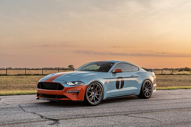 brown-lee-performance-gulf-heritage-mustang-frontal-3-4